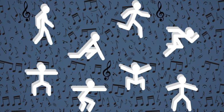 Attività fisica adattata con musica Gruppo Estense Parkinson